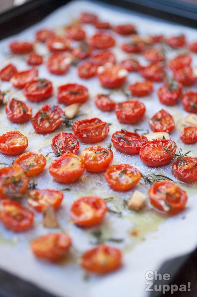 ricetta pomodorini confit o pomodorini appassiti