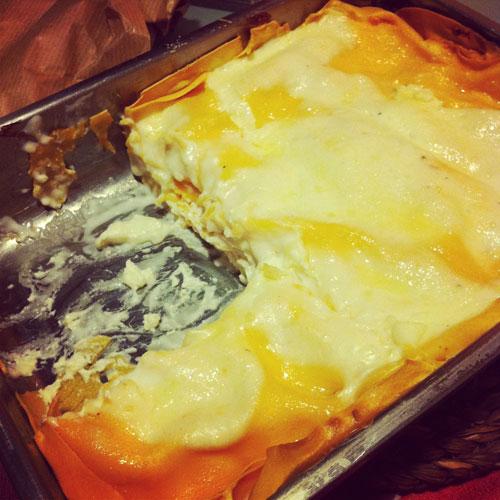 lasagne-finite