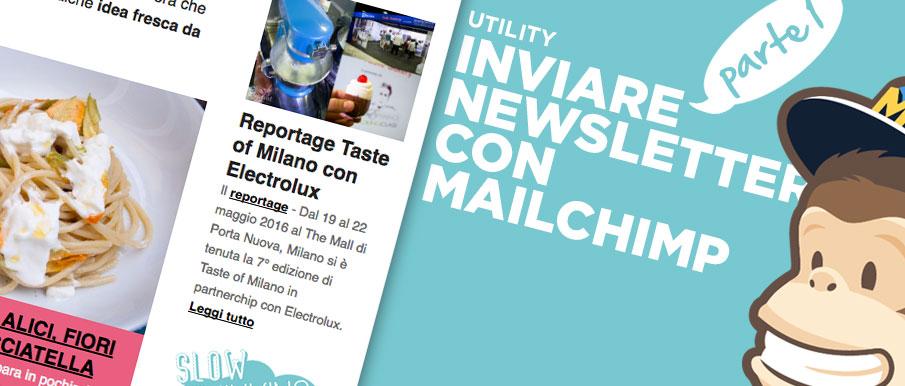 Email marketing: inviare newsletter con Mailchimp – Prima parte