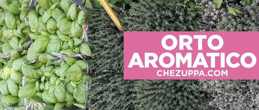 Orto da balcone: le piante aromatiche