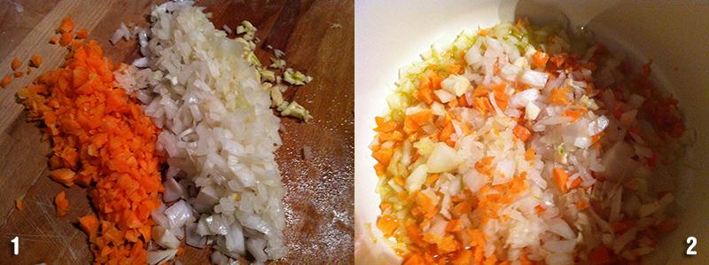 Come preparare i fagioli in umido, step 1 il soffritto
