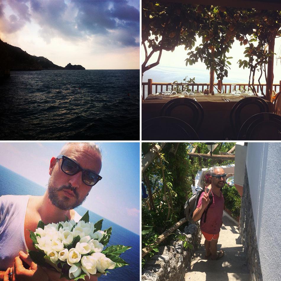 Momenti di una quattro giorni in Costiera Amalfitana - Praiano