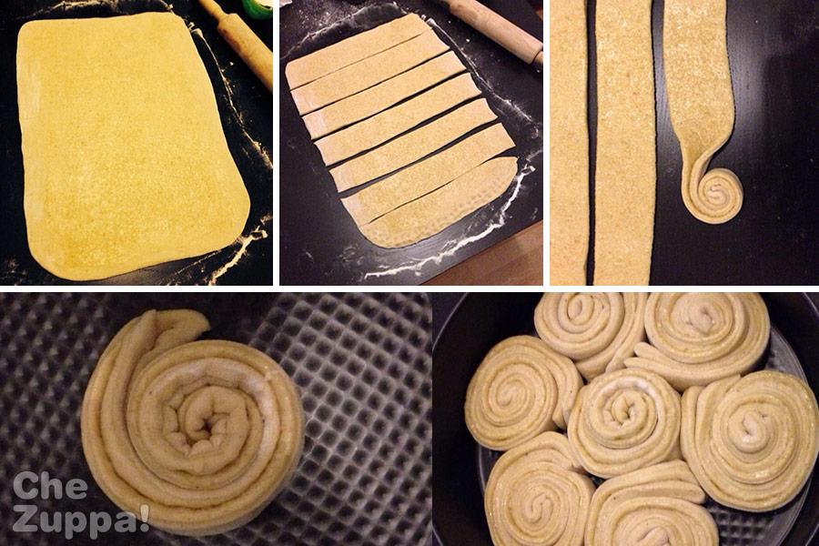 come fare la torta delle rose