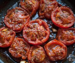 ricetta pomodori imporchettati arrosto