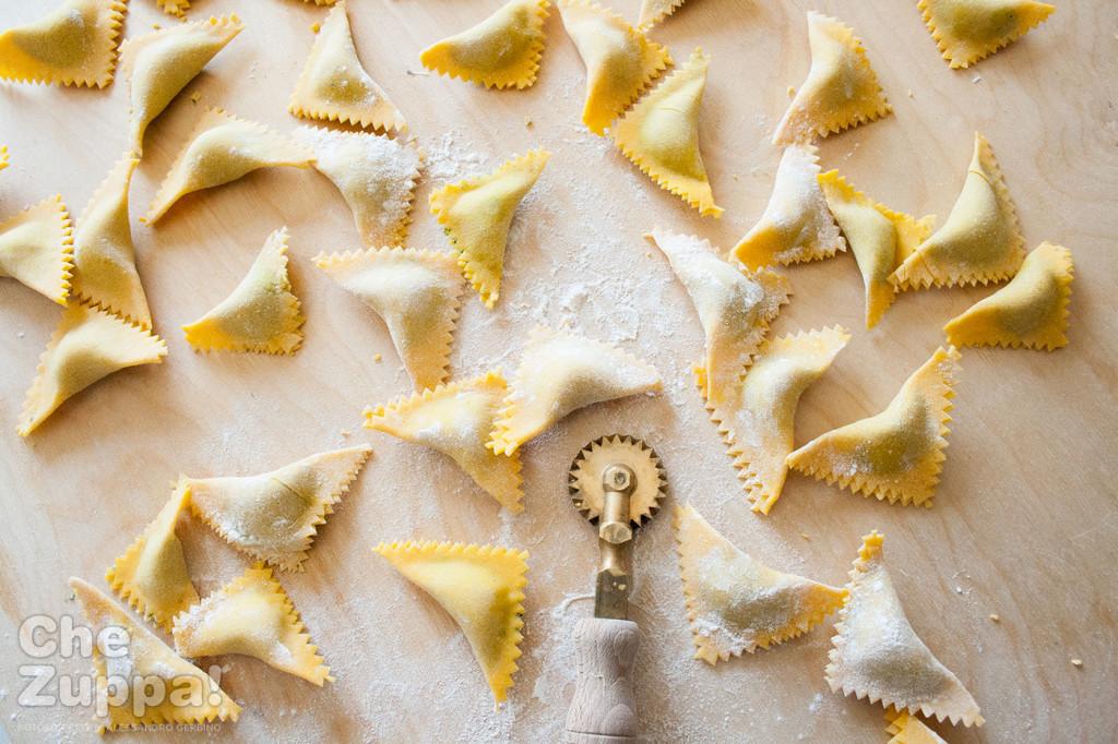 ricetta Ravioli di borragine