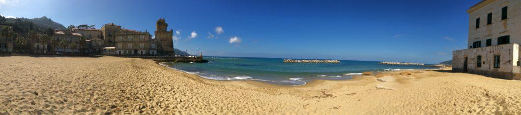 La spiaggia di Santa Maria di Castellabate (SA)