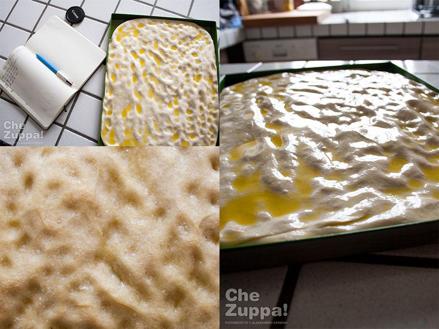 Ricetta pizza focaccia con alici stracciatella e limone