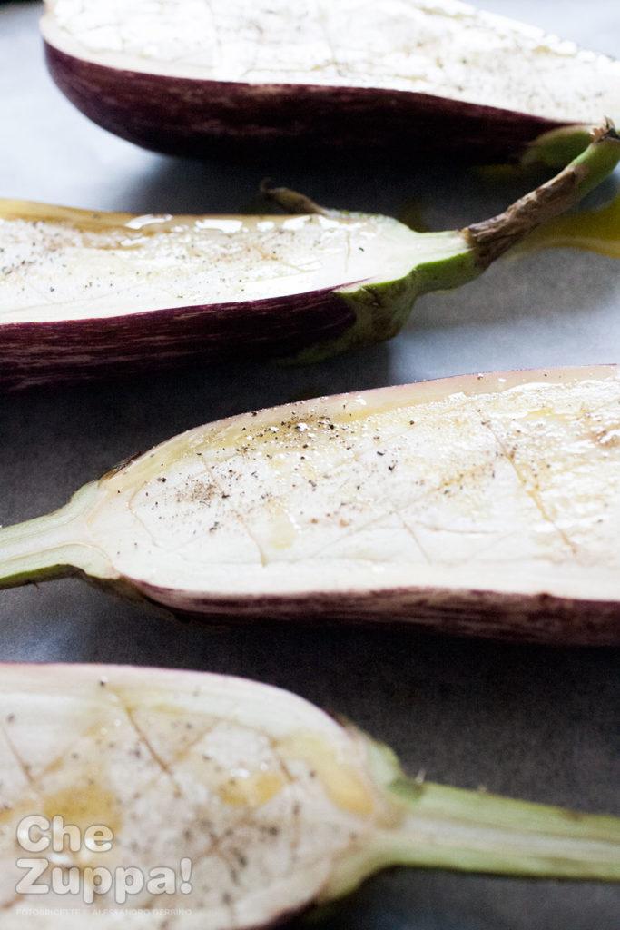 Come tagliare le melanzane per farle ripiene