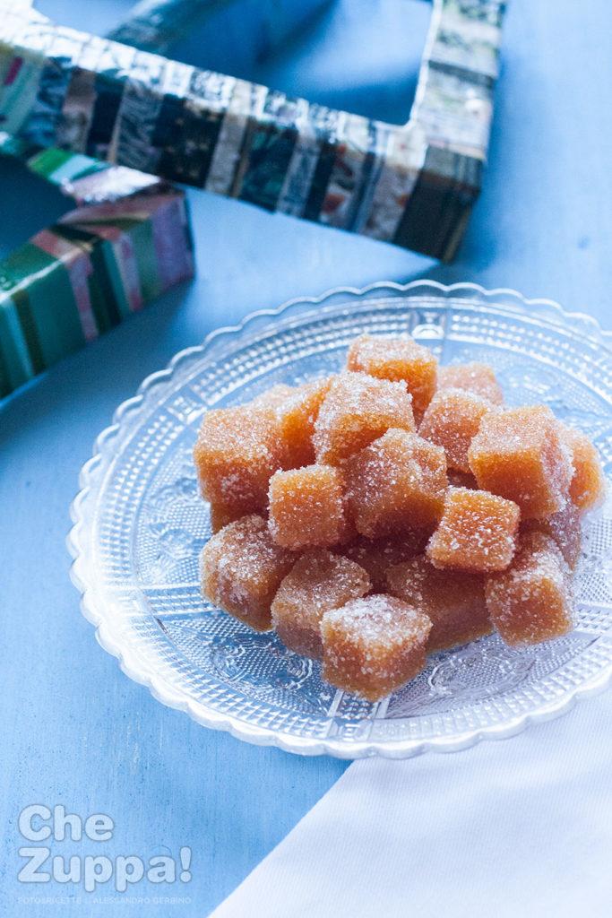 Caramelle Gelée di frutta all'albicocca