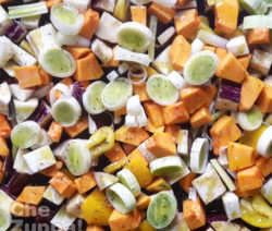 verdure sale e pepe, ricetta facile