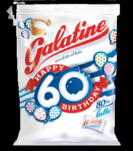 Galatine pack celebrativo per i 60 anni ad edizione limitata