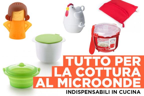 6 utensili perfetti per la cottura in microonde for Attrezzi per la cucina