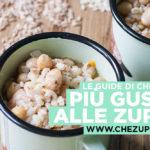 Preparare le zuppe: consigli per un tocco di gusto in più