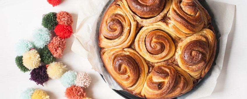 Dolci di natale: torta delle rose alla cannella