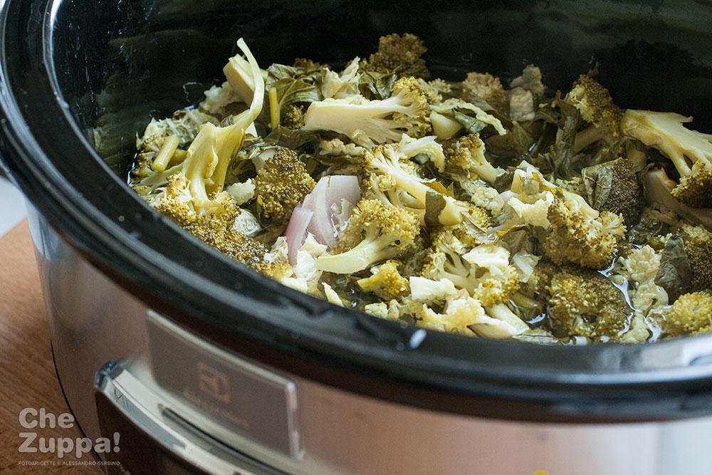 zuppa di verdure invernali con Slow Cooker Electrolux