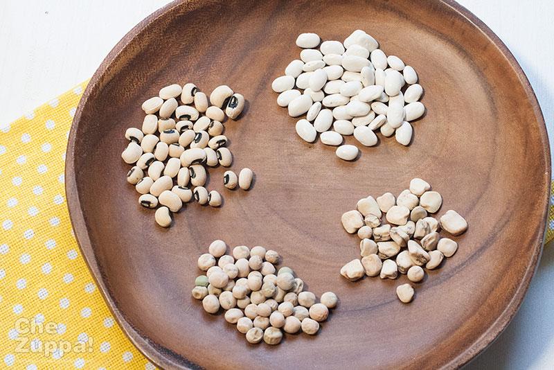 zuppa di legumi e orzo: quali legumi usare
