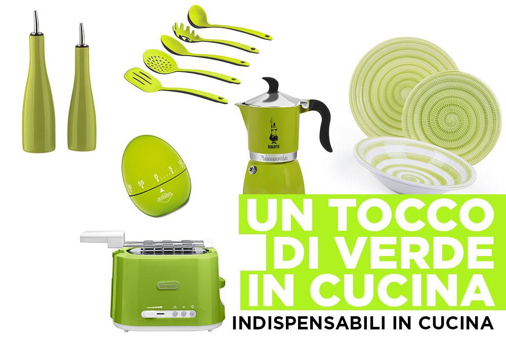 Pantone 2017 Greenery: gli oggetti per una cucina verde ...