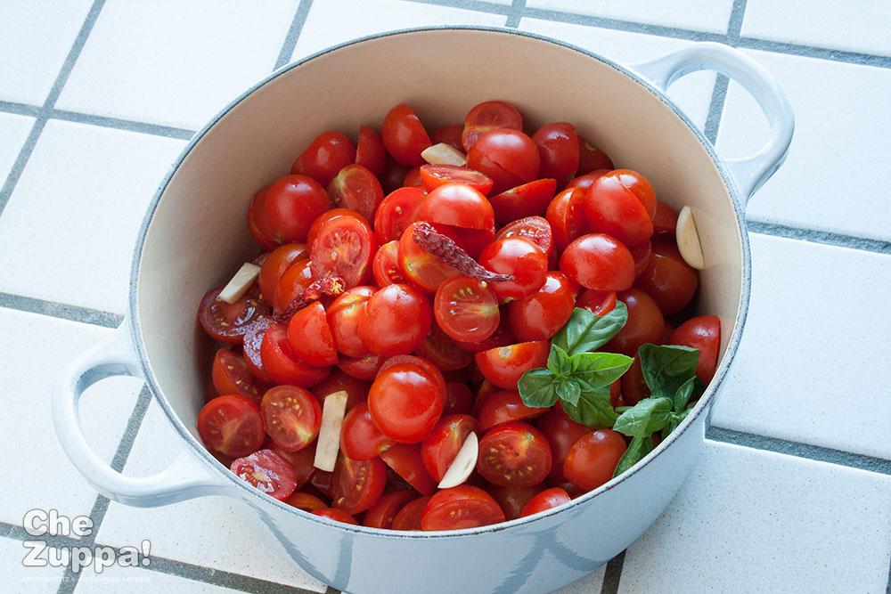 sugo di pomodorini freschi fatto in casa - Alessandro Gerbino