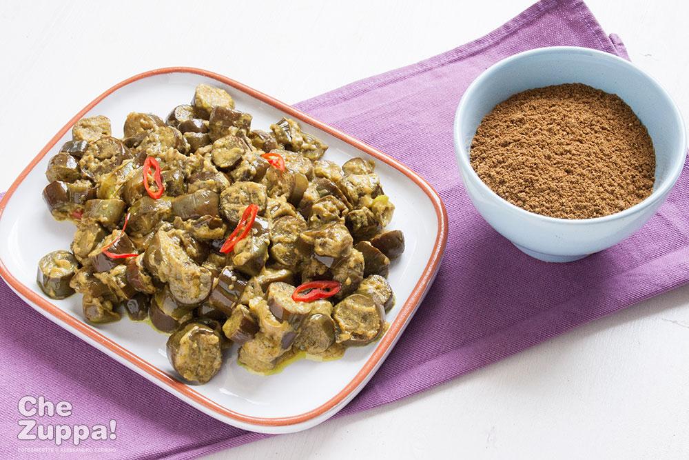 Curry di melanzane, ricetta indiana che accontenta tutti!Chezuppa!