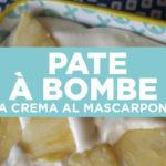 Pate à bombe: la ricetta della crema tiramisù come al ristorante