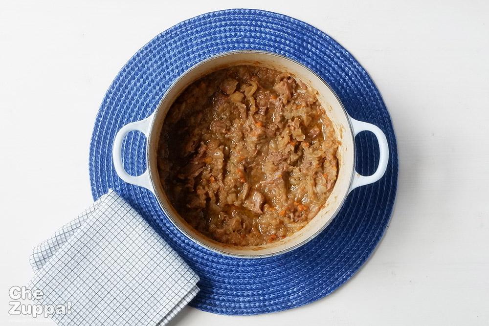 La genovese, un tradizionale condimento della cucina campana e napoletana