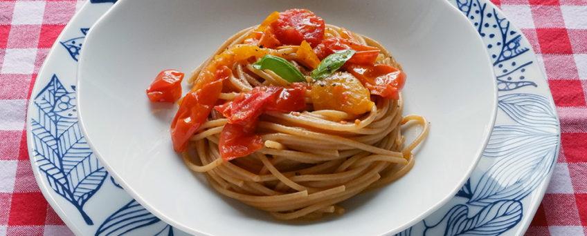 spaghetti al pomodoro facili e veloci