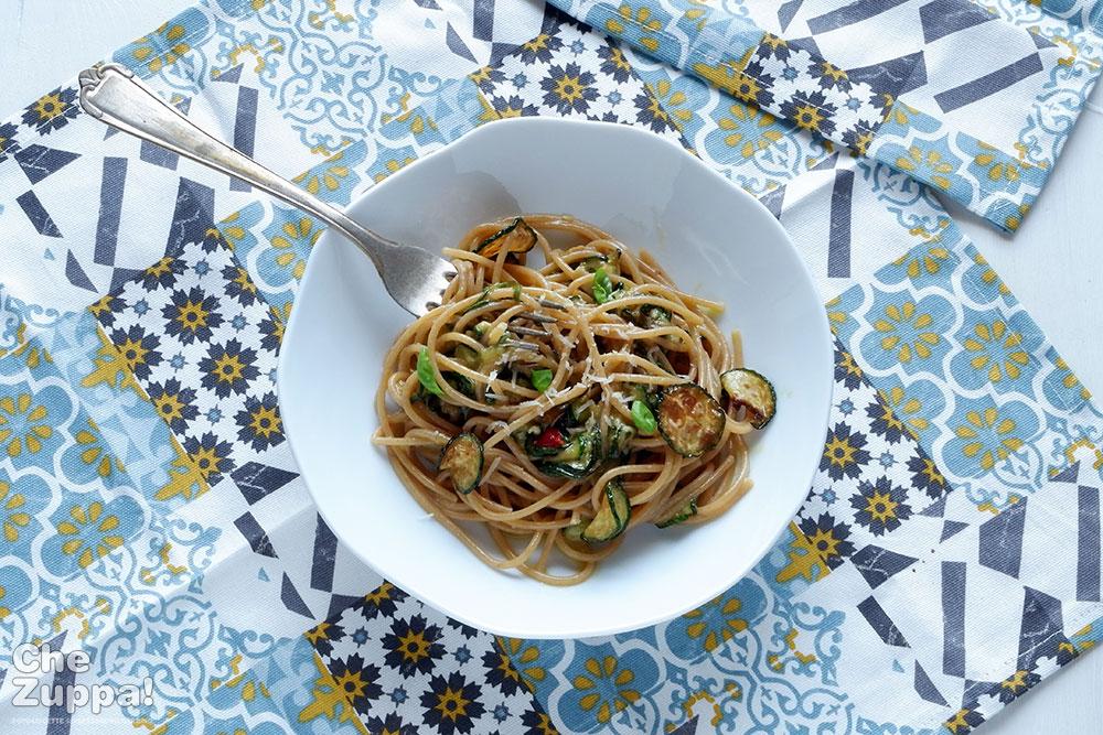 spaghetti alla nerano, cucina tradizionale napoletana