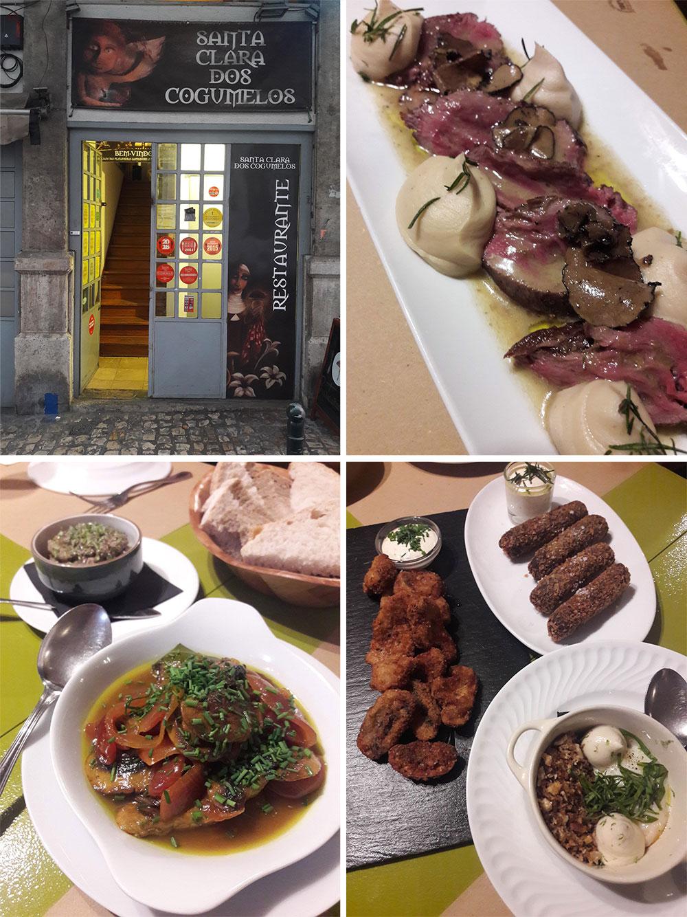 santa clara dos cogumelos. Restaurant in Lisbona