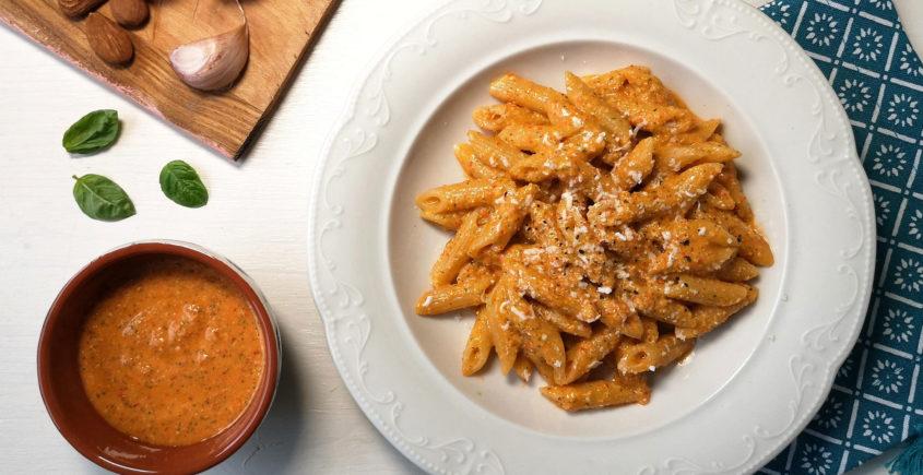ricetta della pasta al pesto alla trapanese