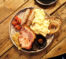 Colazione inglese, full english breakfast, fry-up