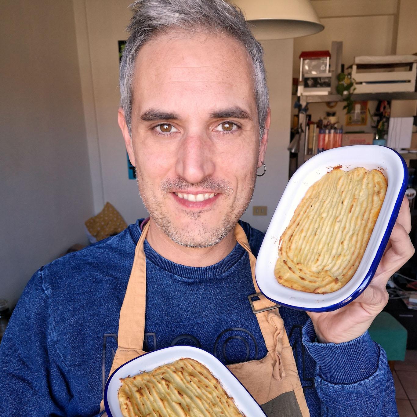 Alessandro Gerbino foodblogger e la ricetta dello shepherd's pie