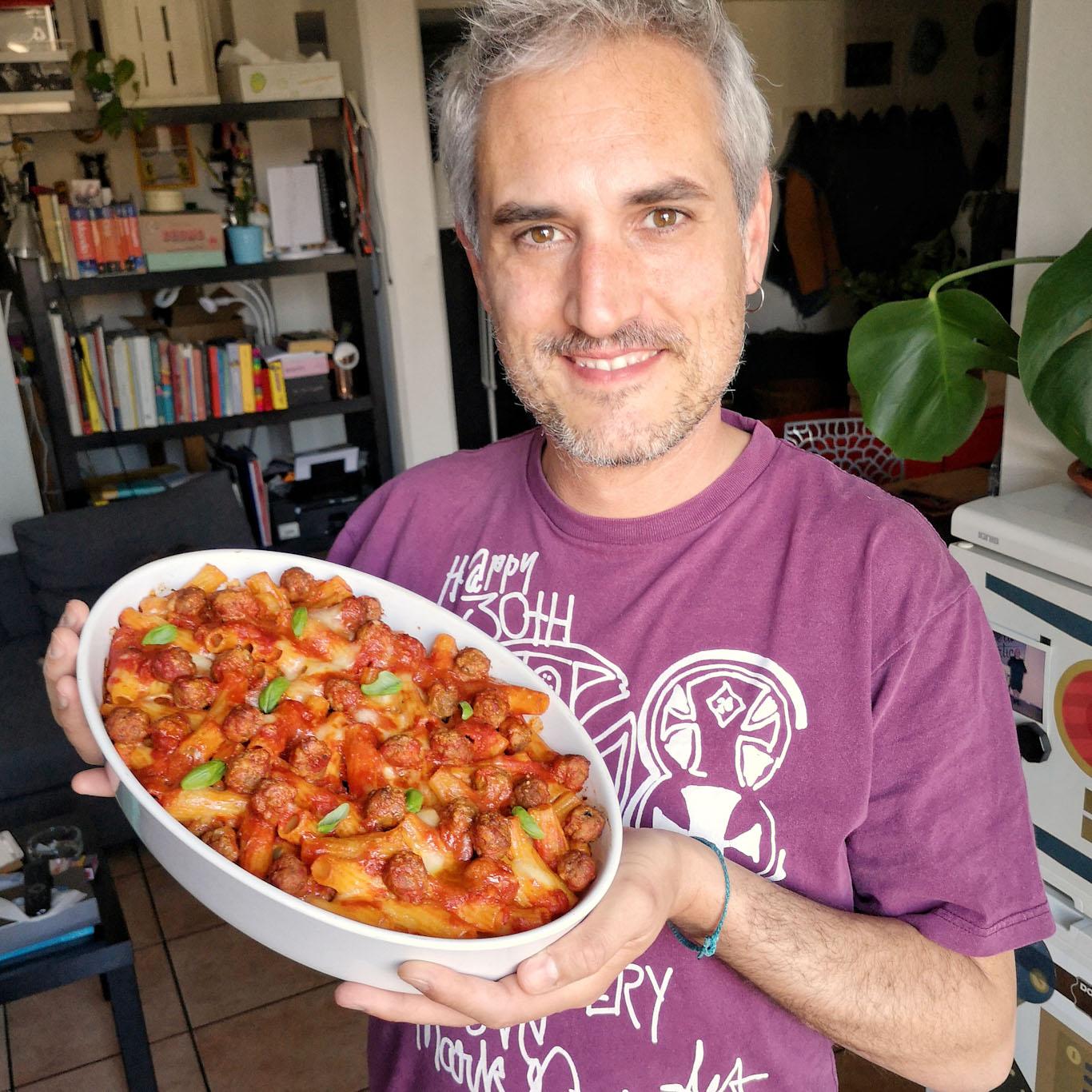 Alessandro Gerbino foodblogger Milano - La pasta al forno con polpette per il pranzo della domenica