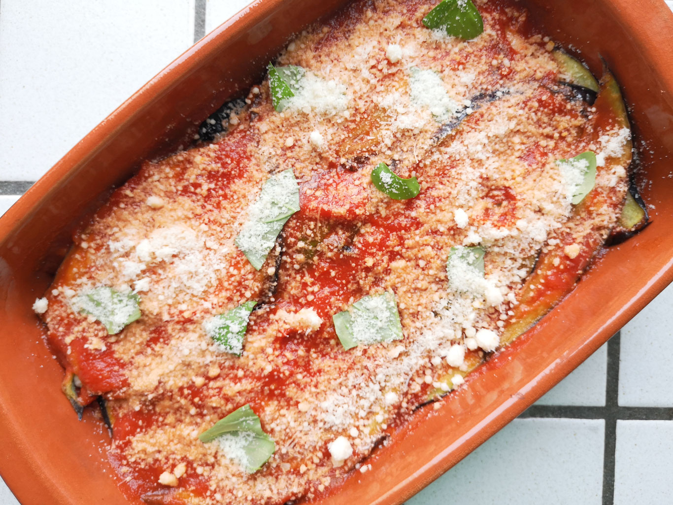 ricetta della parmigiana di melanzane, voi come la fate?