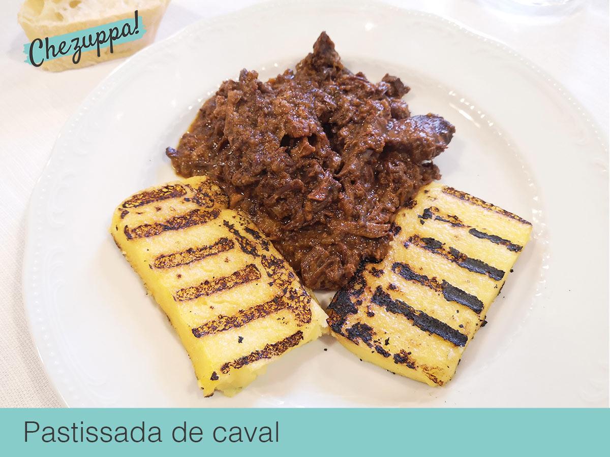 Piatti tipici veronesi, la pastissada de caval con polenta