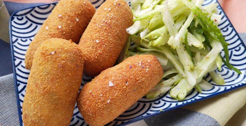 crocchette di patate e verdure - ricetta svuotafrigo