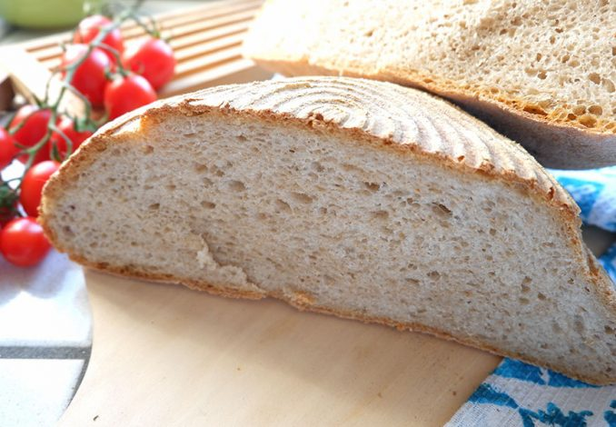 Pane super lievitato di san francisco