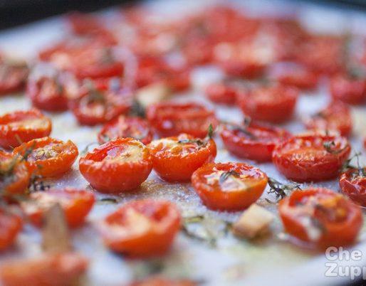 Ricetta pomodorini confit o appassiti