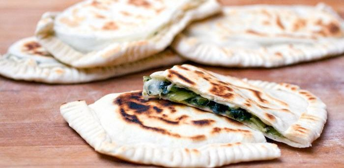 Ricetta street food, cassoni romagnoli