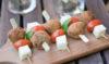 ricetta spiedini di polpette di melanzane per l'aperitivo
