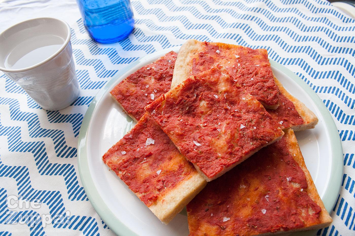 Ricetta pizza rossa con lievito madre