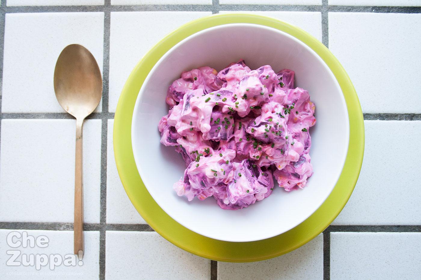 Ricetta dell'insalata di barbabietole