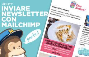 Come inviare newsletter con mailchimp prima parte