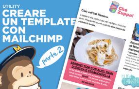 guida invio newsletter con mailchimp per foodblogger