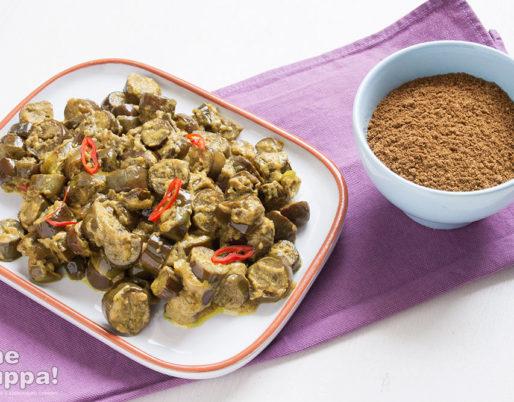 Curry di melanzane perline - foto e ricetta di Alessandro Gerbino