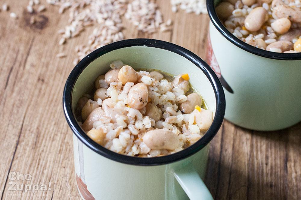la zuppa del casale fatta in casa
