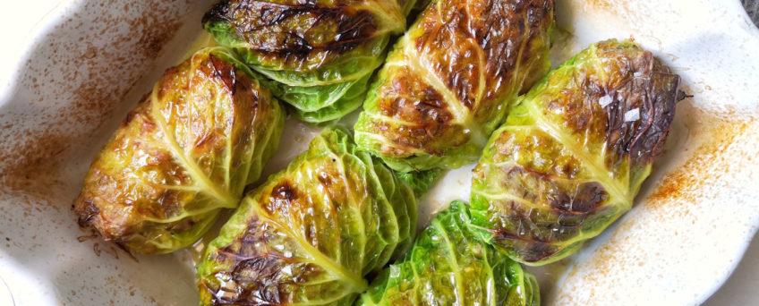 Involtini di verza ripieni di carne - capunet - ricetta di alessandro gerbino Chezuppa