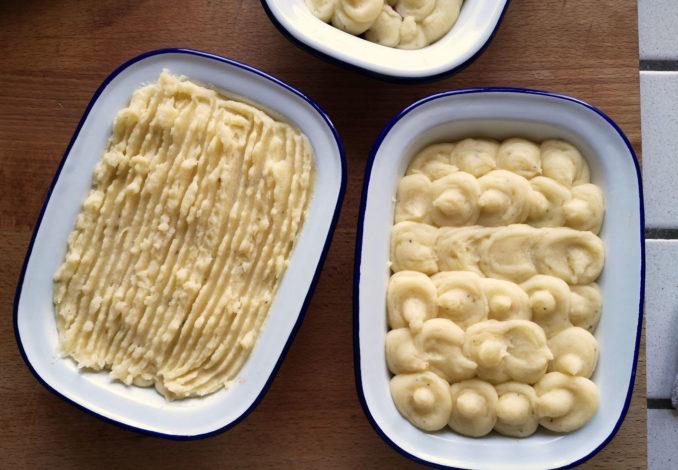 La preparazione della ricetta Cottage Pie