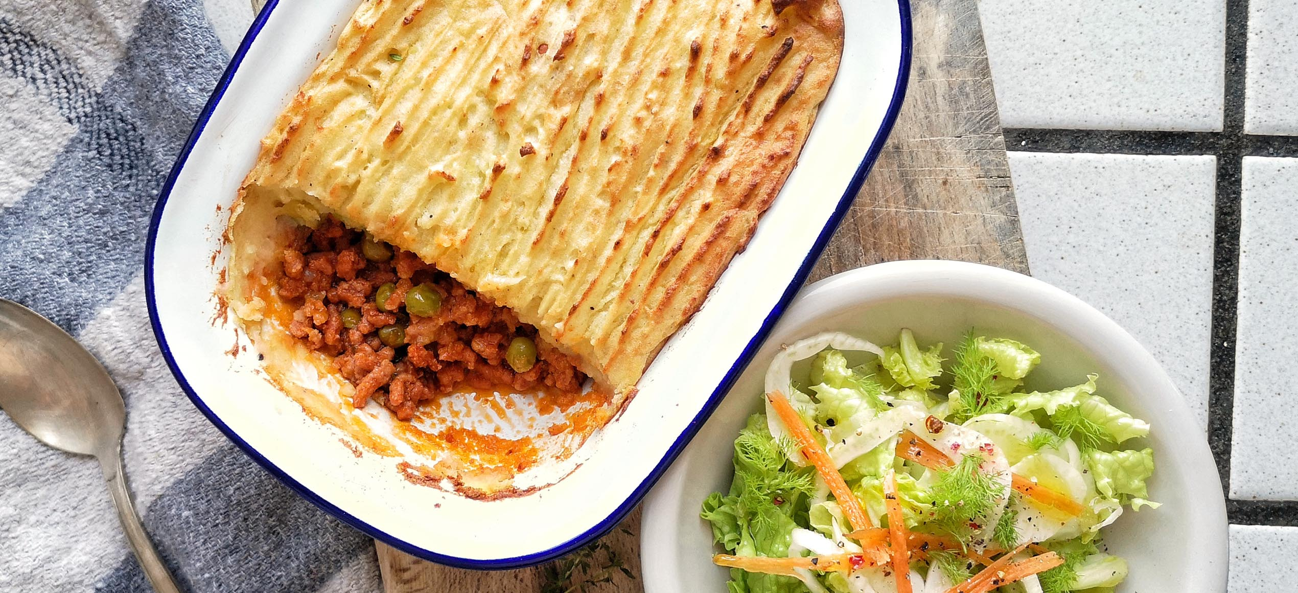 Cottage pie & Shepherd's pie