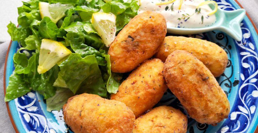 Crocchette di baccalà ricetta portoghese