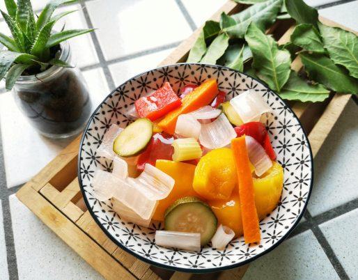giardiniera di verdure sottaceto